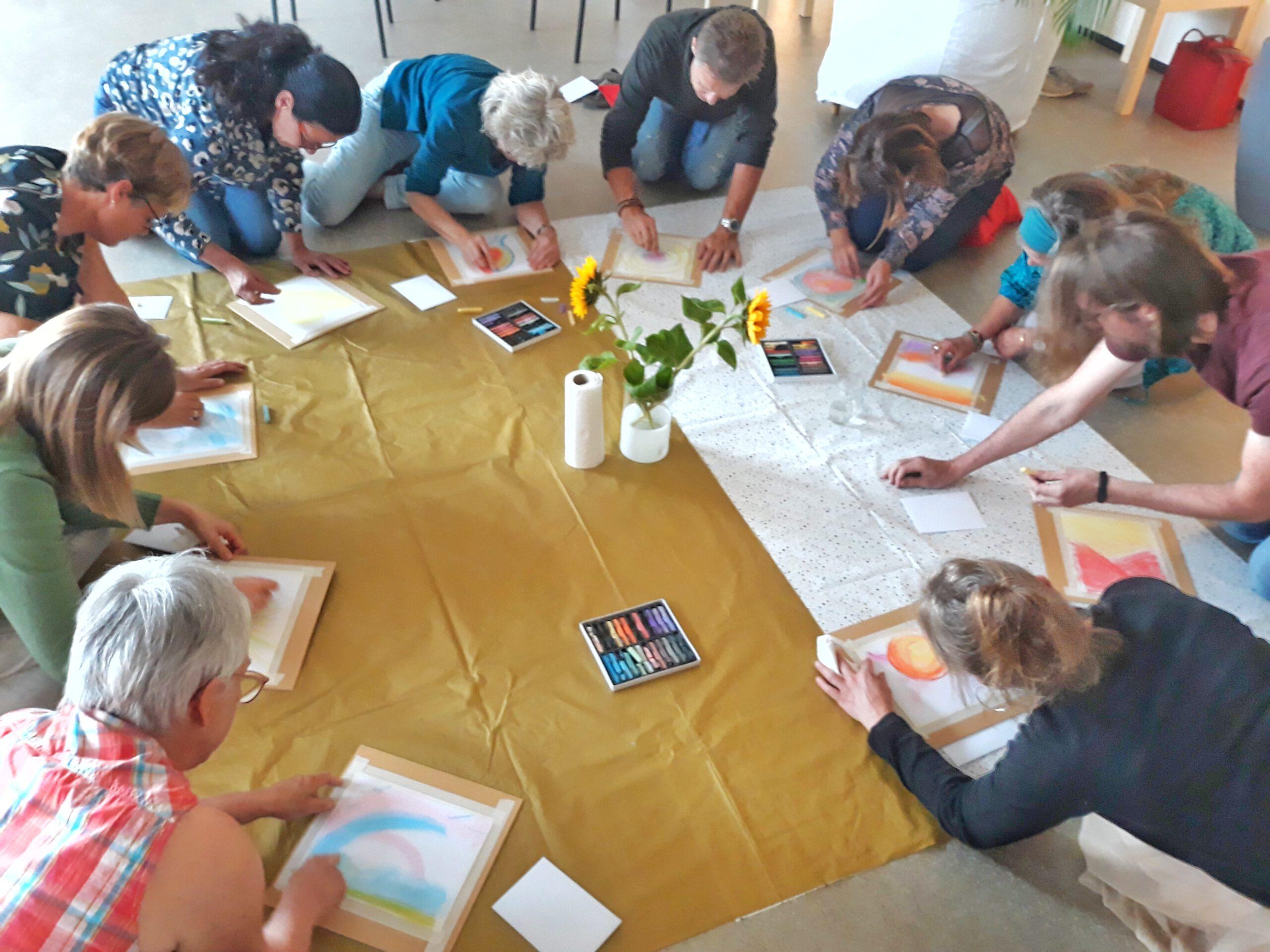 Workshop Kleur je leven